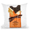 Chocolate Bar H Throw Pillow by Jodi Pedri