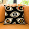 Couture Eyes Throw Pillow by Jodi Pedri