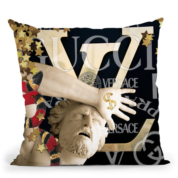 Athen Throw Pillow By Jodi Pedri - by all about vibe