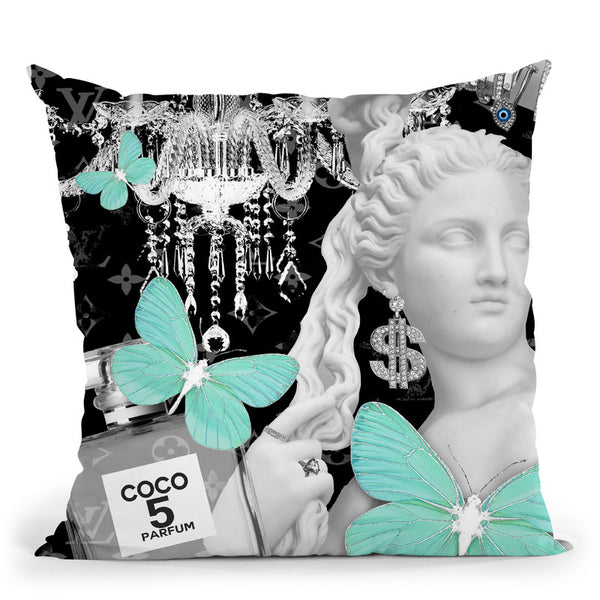 Diana Throw Pillow By Jodi Pedri - by all about vibe