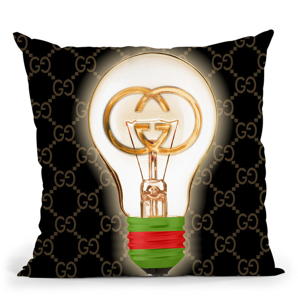 Designer G Idea Throw Pillow By Jodi Pedri - by all about vibe