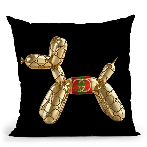 Designer G Pup Throw Pillow By Jodi Pedri - by all about vibe