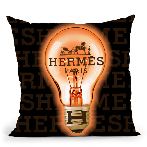 Designer H Idea Throw Pillow By Jodi Pedri - by all about vibe