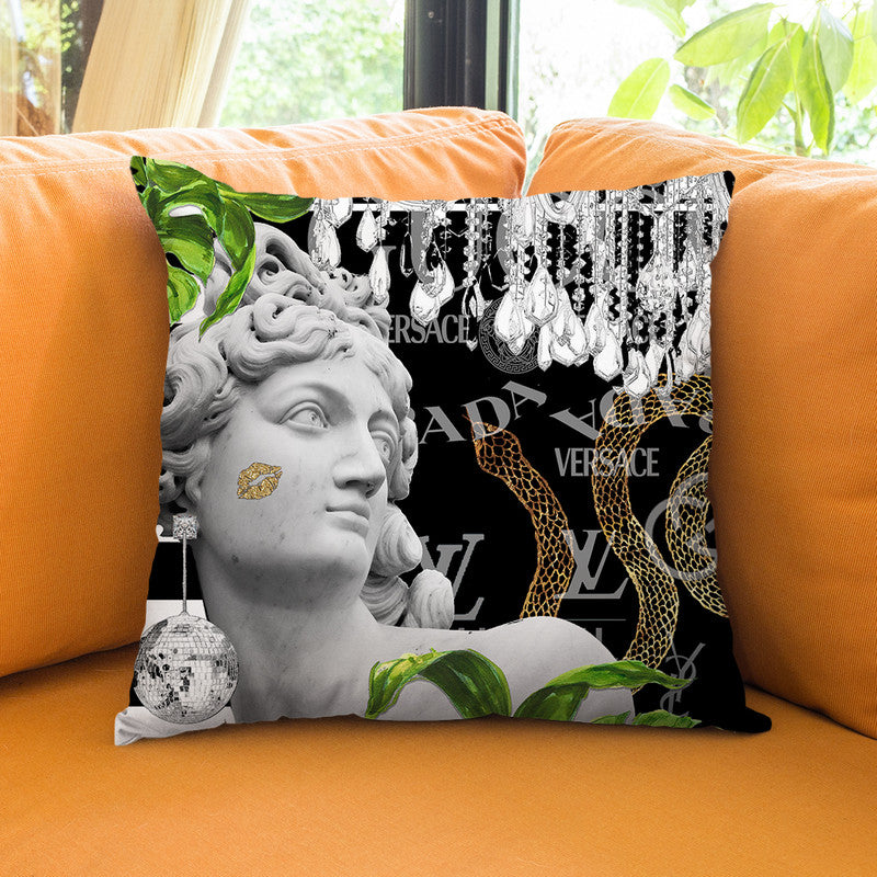 Odet Throw Pillow By Jodi Pedri - by all about vibe