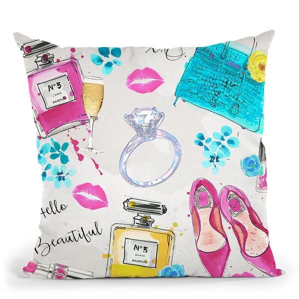 Spring On My Mind Throw Pillow by Jodi Pedri