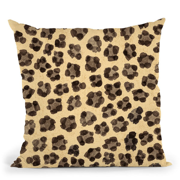 Jungle Vibes Step 07B Throw Pillow By Julia Purinton
