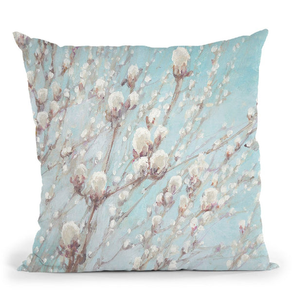 Early Spring Throw Pillow By Julia Purinton