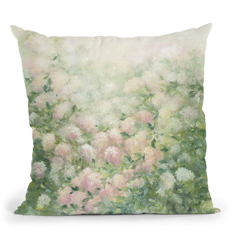 Dreamy Throw Pillow By Julia Purinton