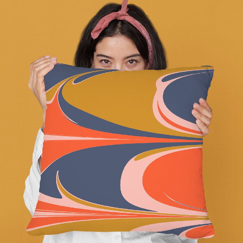 Abstract Ii Throw Pillow By June Journal
