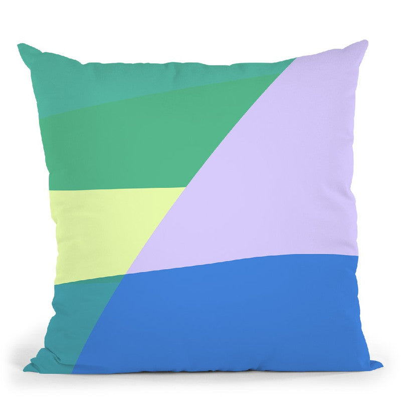 Abstract Iv Throw Pillow By June Journal