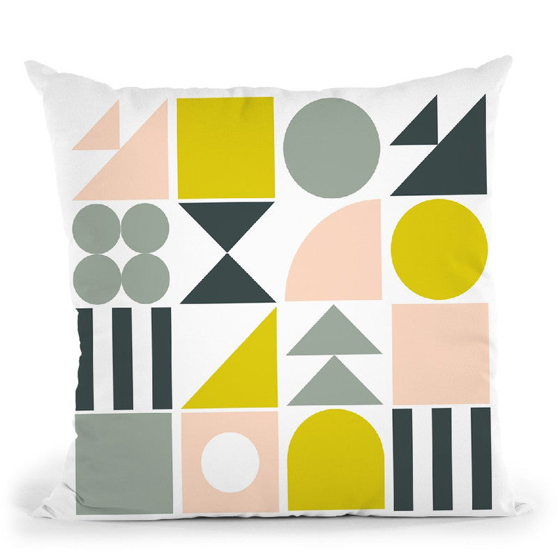 Geometric Ii Throw Pillow By June Journal
