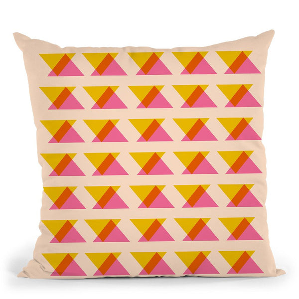 Geometric Vii Throw Pillow By June Journal