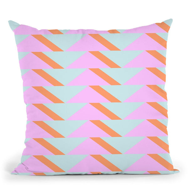 Geometric Viii Throw Pillow By June Journal