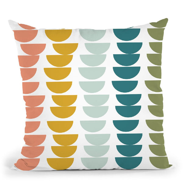 Geometric Xiii Throw Pillow By June Journal