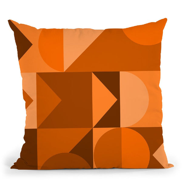 Geometric Xv Throw Pillow By June Journal