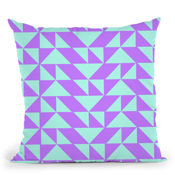 Geometric Xvi Throw Pillow By June Journal