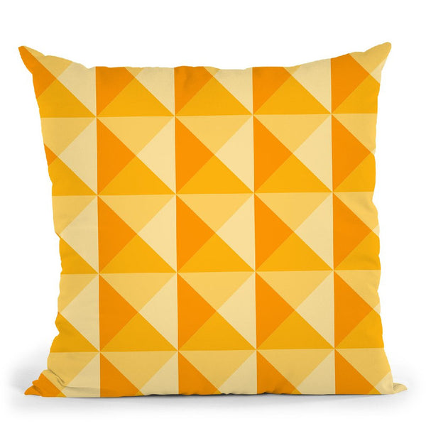 Geometric Xviii Throw Pillow By June Journal