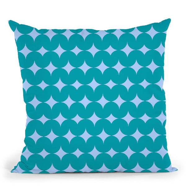 Geometric Xix Throw Pillow By June Journal