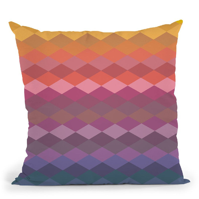 Geometric Xxi Throw Pillow By June Journal