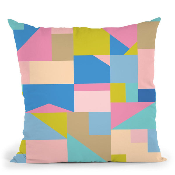 Geometric Xxii Throw Pillow By June Journal