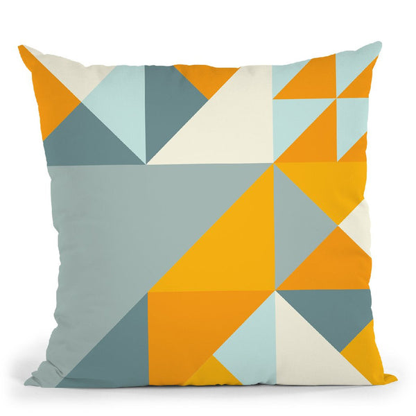 Geometric Xxiii Throw Pillow By June Journal