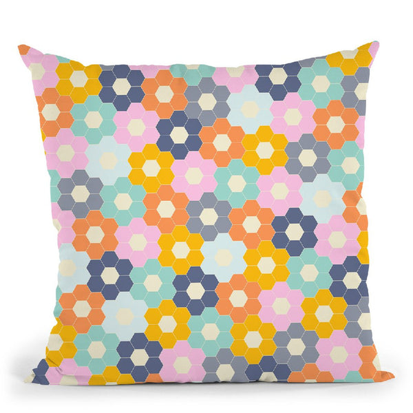 Geometric Xxiv Throw Pillow By June Journal