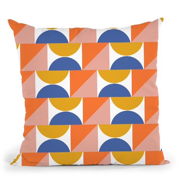 Geometric Xxvi Throw Pillow By June Journal