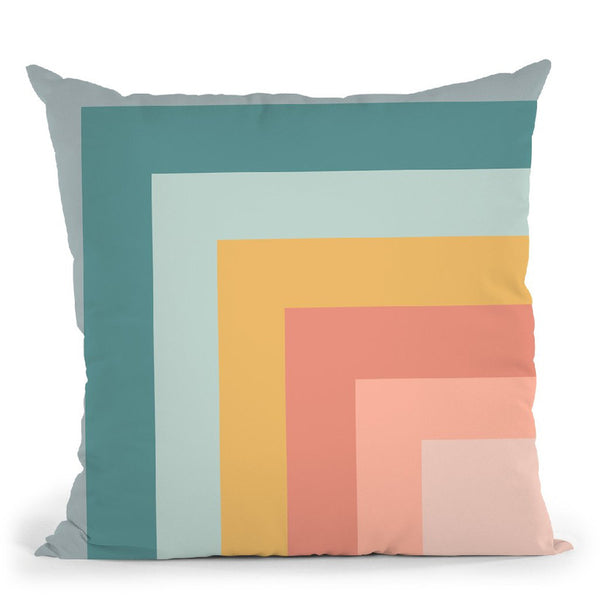 Geometric Xxviii Throw Pillow By June Journal