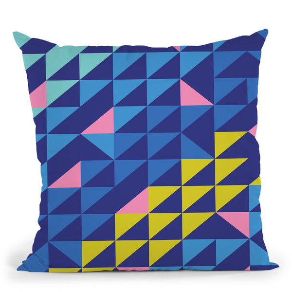 Geometric Xxix Throw Pillow By June Journal