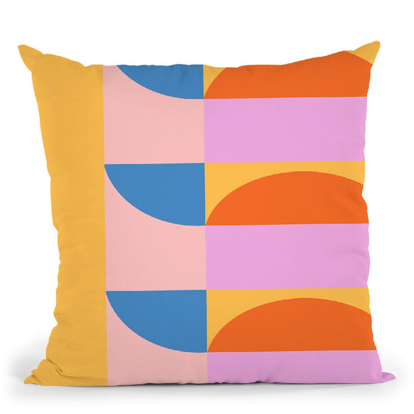 Geometric Xxx Throw Pillow By June Journal