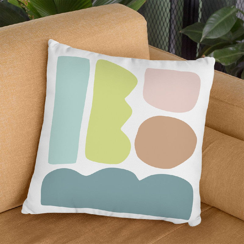 Geometric Xxxi Throw Pillow By June Journal