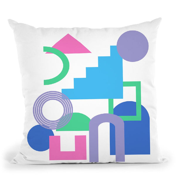 Geometric Xxxii Throw Pillow By June Journal