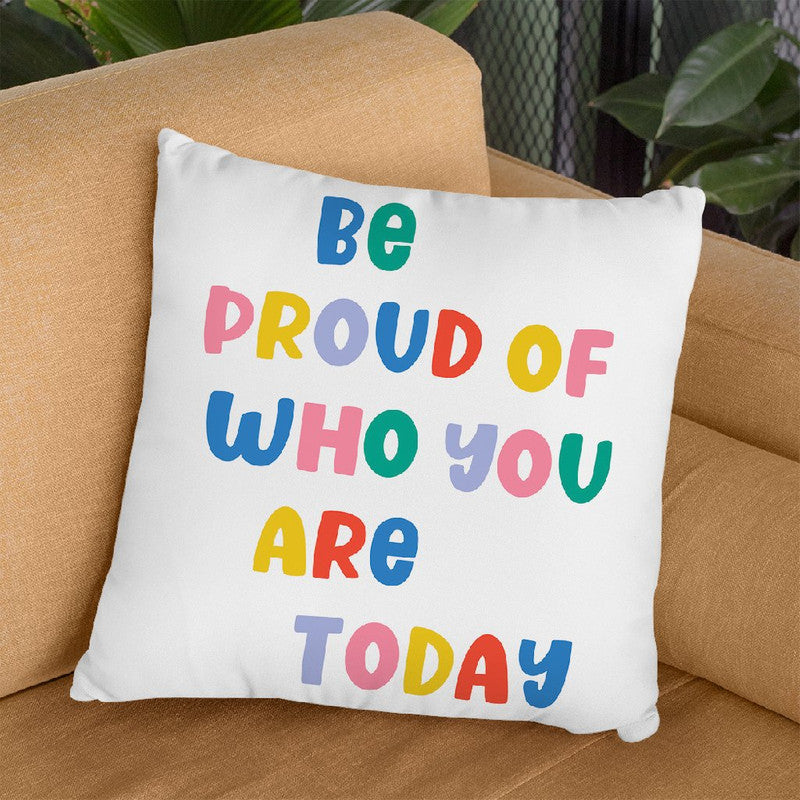 Be Proud Rainbow Ii Throw Pillow By June Journal