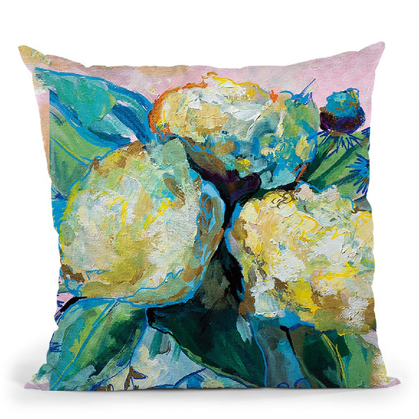 Ginger Jar I Throw Pillow By Jeanette Vertentes