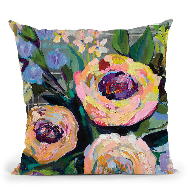 Dreamy Throw Pillow By Jeanette Vertentes