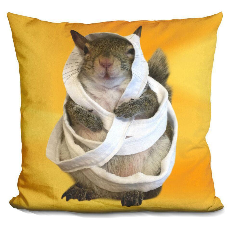 Jill Mummy Pillow Square Pillow