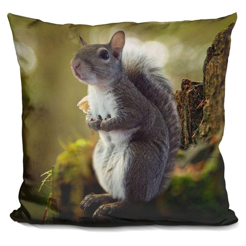 Jill Plain Full Body Deep Forest Square Pillow