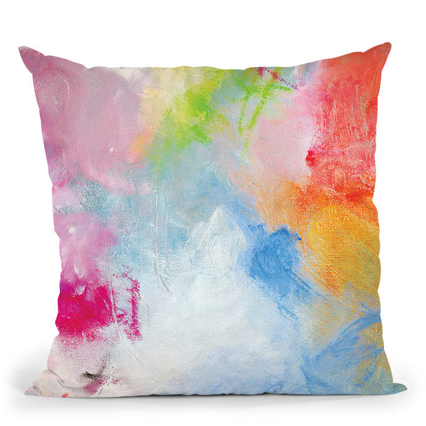 Oceans Apart Throw Pillow By Kathleen Reits