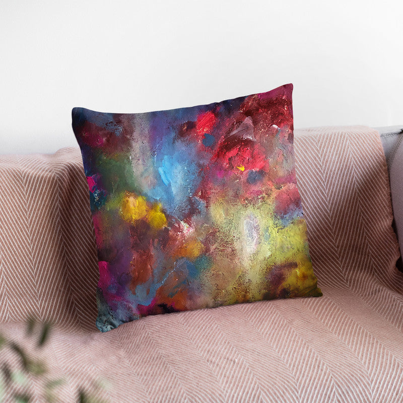 Passion Throw Pillow By Kathleen Reits