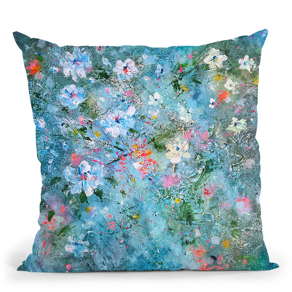 Summer Solstice Throw Pillow By Kathleen Reits