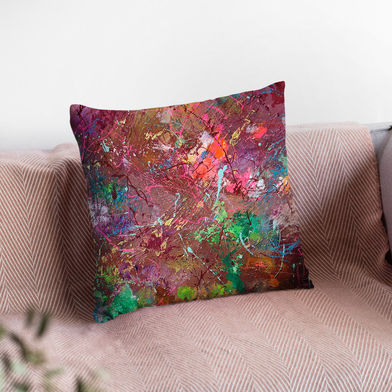 Sun Dance Throw Pillow By Kathleen Reits