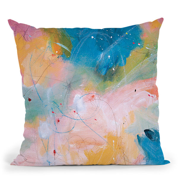 Tinker Bell Throw Pillow By Kathleen Reits