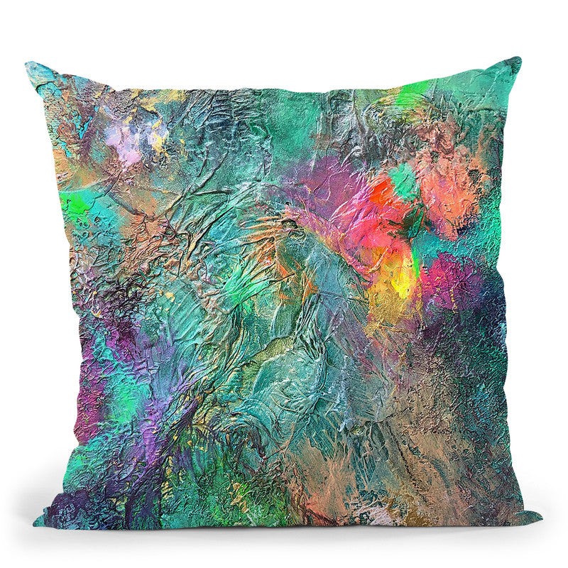 Underlying Emotions Throw Pillow By Kathleen Reits