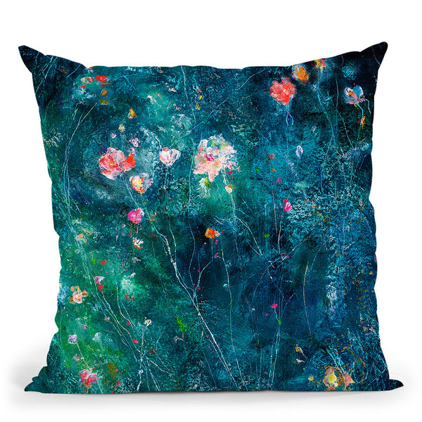 I Love You To The Moon And Back Throw Pillow By Kathleen Reits