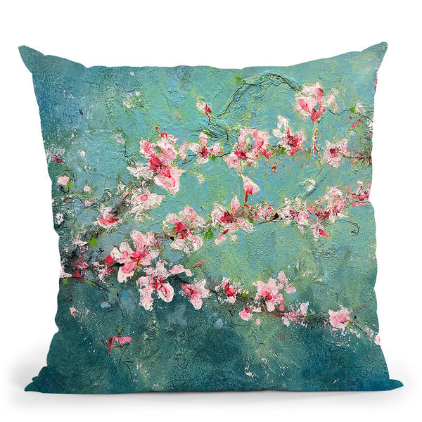 Magnolia Branches Throw Pillow By Kathleen Reits