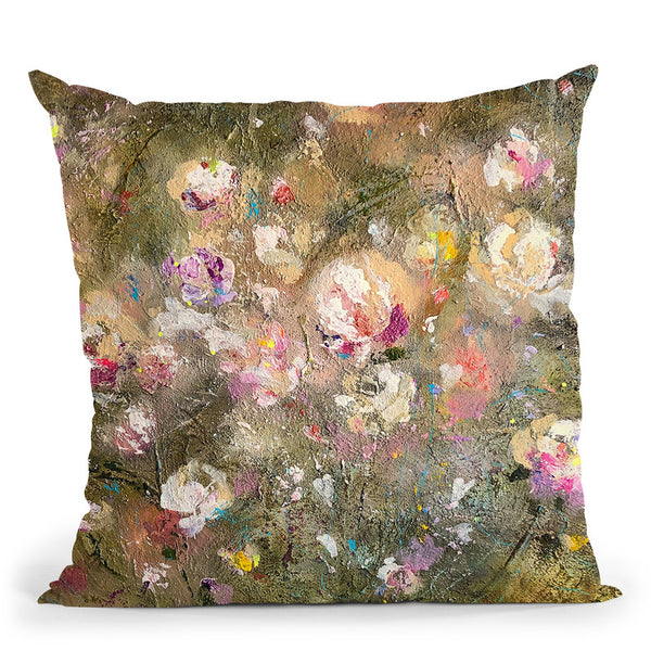 Final Appearance Throw Pillow By Kathleen Reits