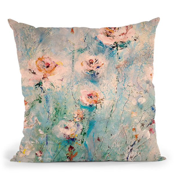 Serenity Throw Pillow By Kathleen Reits