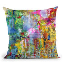 Summer-Soiree Throw Pillow By Kathleen Reits