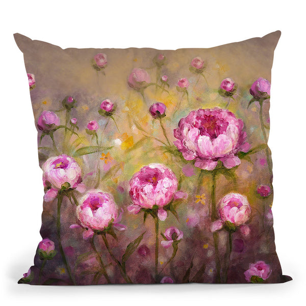 Sun Drenched Morning Throw Pillow By Kathleen Reits