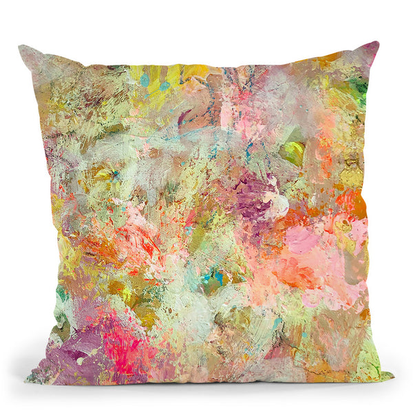 Good Vibrations Throw Pillow By Kathleen Reits